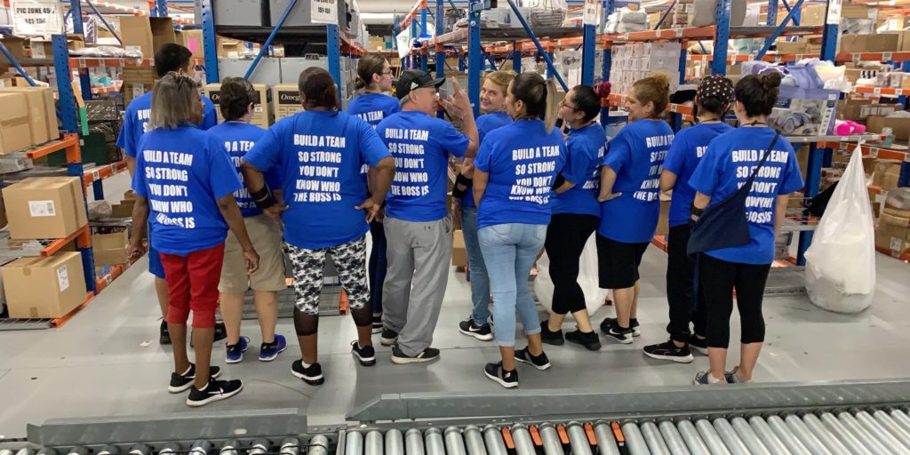 Bed Bath and Beyond Team Motivating Spiritware