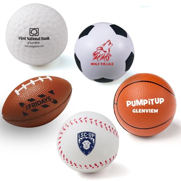 Custom Print on Stress Ball Reliever